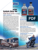 Synthetic Premium Protection Motor Oil 20w-50 & 10W-40