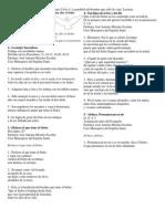 33° Domingo Ordinario Ciclo A. La parábola del hombre que salió de viaje. Lecturas