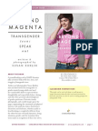 Beyond Magenta by Susan Kuklin Discussion Guide