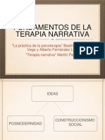 Fundamentos de La Terapia Narrativa