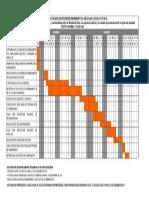 Cronograma de actividades referidas al proceso de nombramiento del 2014
