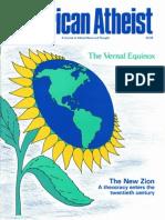 American Atheist Magazine March 1990