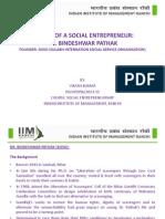 Profile of Social Entrepreneur