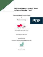 PA Sereinig a Standardized Listening Room