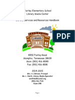 fairley elementary school library handbook