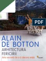 Arhitectura Fericirii_I Semnificatia Arhitecturii_Alain de Botton
