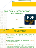 Ecologia y Patogenia Bacteriana