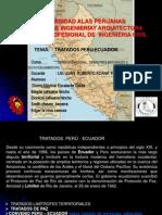 Tratados Peru Ecuador