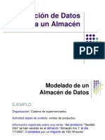 Modelacion de un almacen de datos