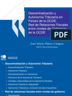 Descentralización y Autonomía Tributaria en Países de la OCDE.