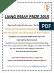 Advert Laing Essay 2015
