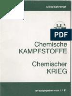 Chemische Kampfstoffe - Chemischer Krieg