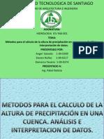 Analisis de Los Datos de Precipitacion1