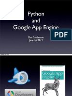 Python and Google App Engine