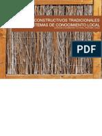 SISTEMAS CONSTRUCTIVOS TRADICIONALES COMO SISTEMAS DE CONOCIMIENTO LOCAL