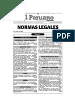 Nuevo reglamento ambiental para minería e hidrocarburos