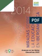 Miradas sobre la educación en Iberoamérica 2014