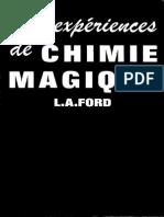 100 Expériences de Chimie Magique