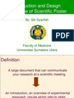 Introduction and Design Technique of Scientific Poster