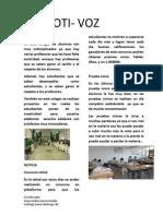 Revista Hecha Por Santiago Suarez y Jorge Andres Garcia 8#D