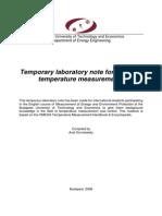 Temperature Measuremnts