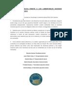 Declaración pública sobre los sucesos ocurridos en Mexico