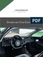 Volkswagen Dashboard User Experience