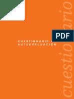 EFQM Cuestionario de Autoevaluacion