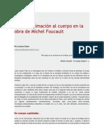 Una Aproximación Al Cuerpo en La Obra de Michel Foucault