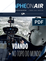Pimeira Edicao Da Revista Da Associacao Dos Pilotos de Helicoptero de Sao Paulo