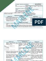 Planificación Multigrado (Bidocente) II Bloque Desafios Matemáticos-Español