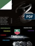TAG HEUER - Marketing Strategy & Brand Ambassadors Worldwide