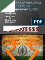 Finance Project Presentation Dollar vs Rupee