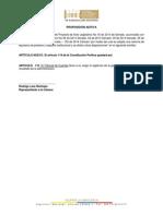 Proposiciones Tribunal de Cuentas