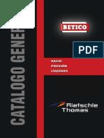Catálogo General BETICO - Vacío, Presión, Líquidos