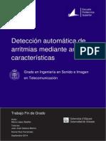 Detección Automática de arritmias mediante análisis de características