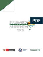 Premio Nacional de Ciudadanía Ambiental 2009