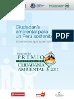 Premio Nacional de Ciudadanía Ambiental 2011