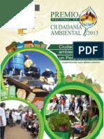 Premio Nacional de Ciudadanía Ambiental2013