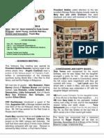 Moraga Rotary Newsletter Nov 11 2014
