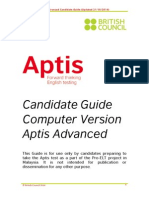 APTIS TEST Candidate Guide Advanced V2.1 27102014