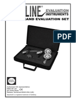 Baseline 3 Piece Hand Evaluation Set User Manual