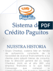 Sistema de Crédito Paguitos
