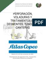 Ingenieria - Perforaciones, Voladuras y Tratamientos en Desmontes, Tuneles y Canteras- ATLAS COPCO
