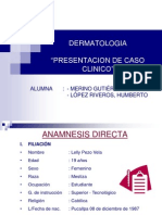 Dermatologia - Caso Clínico Lp