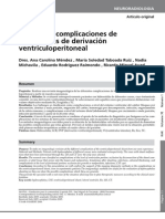 Diferentes complicaciones de los sistemas de derivación ventriculoperitoneal