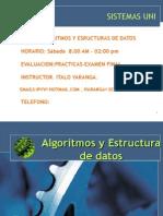 Algoritmos y Estructura de Datos-uni