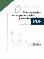 Diez Ideas Clave Competencias en Argumentacion y Uso de Pruebas