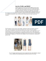 pest analysis h m h m fashion beauty competitive analysis for zara and h