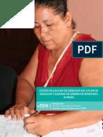 Costeo Genero Plan Honduras